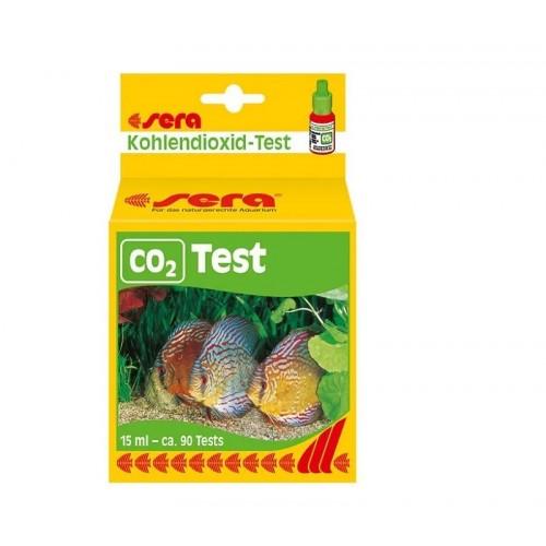 Sera CO2-Test - тест индикатор длительного действия на содержание СО2 в аквариуме, 15мл.