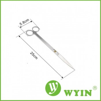 Ножницы WYIN плоские 25см, серебро