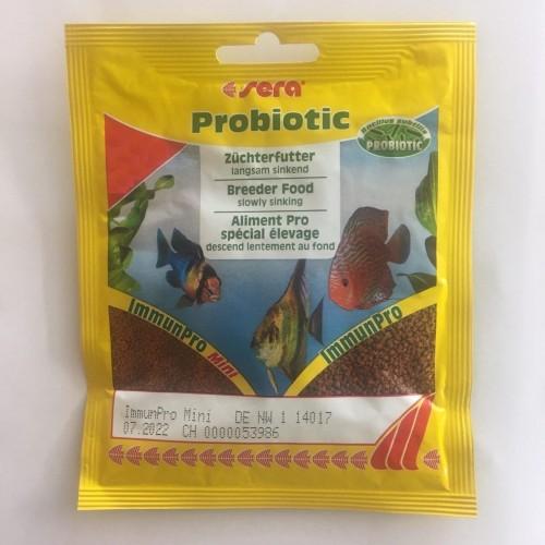 Sera Immun Pro 10 г, основной корм для выращивания рыбы и укрепления иммунитета (гранулы)