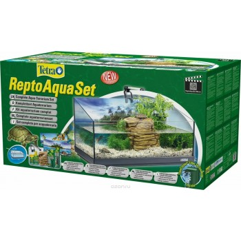 Tetra Repto AquaSet 80л, 76x38x37см Террариум для черепах