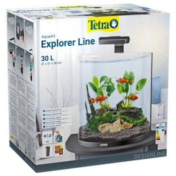 Tetra AquaArt Explorer Line Tropical 30л, Аквариум.