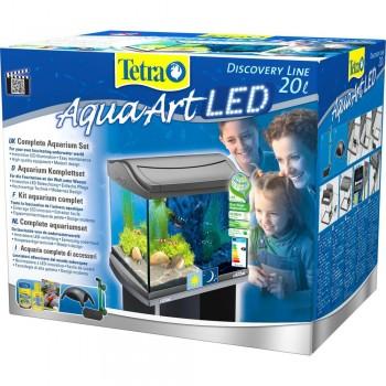 Tetra AquaArt LED  Shrimp 20л, Аквариум для креветок.