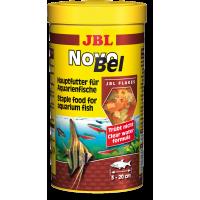 JBL NovoBel 250мл Основной корм в форме хлопьев для всех аквариумных рыб