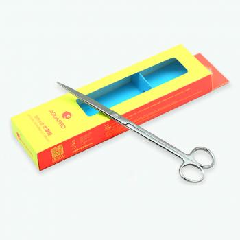 Ножницы aquapro прямые 21 см, серебро