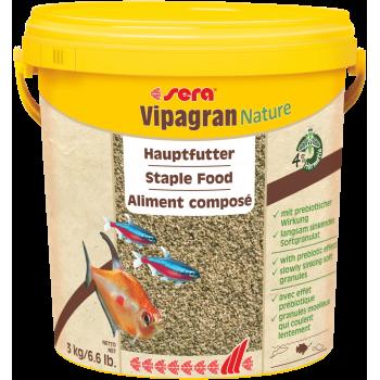 Sera Vipagran, основной в гранулах, 10 л (3 кг)