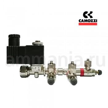 Сборка на CAMOZZI CO2 три аквариума - кран MCO