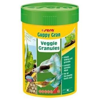 Sera Guppy gran 100 мл - специальный корм для гуппи (гранулы)