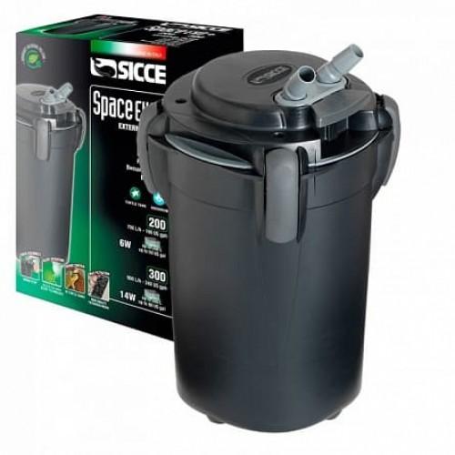 SICCE SPACE EKO+ 100 - внешний фильтр для аквариумов объёмом до 100 литров