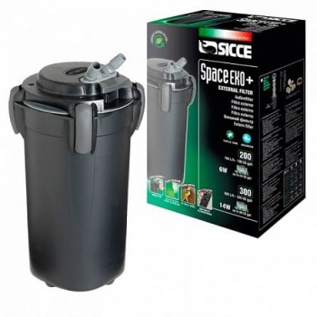 SICCE SPACE EKO+ 200 - внешний фильтр для аквариумов объёмом до 200 литров