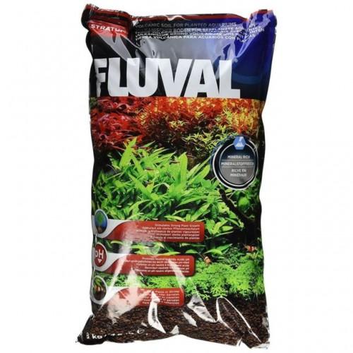 Fluval Stratum 8 кг - питательный грунт для креветок и растений