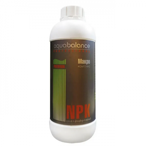 AQUABALANCE PROFESSIONAL PREMIUM Макро-комплекс NPK 1 л - удобрение для растений