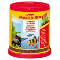 Sera Granulate Menu, 150мл, (гранулы) набор разнообразных гранулированных кормов