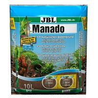 JBL Manado 10l - Питательный грунт, красно-коричневый (цвет латеритной почвы), 10 литра.