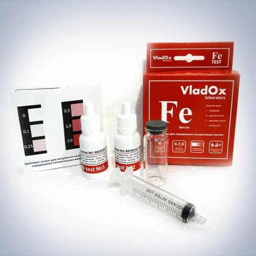 VladOx Fe тест - профессиональный набор для измерения концентрации железа