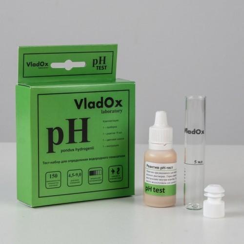 VladOx pH тест, для измерения водородного показателя воды