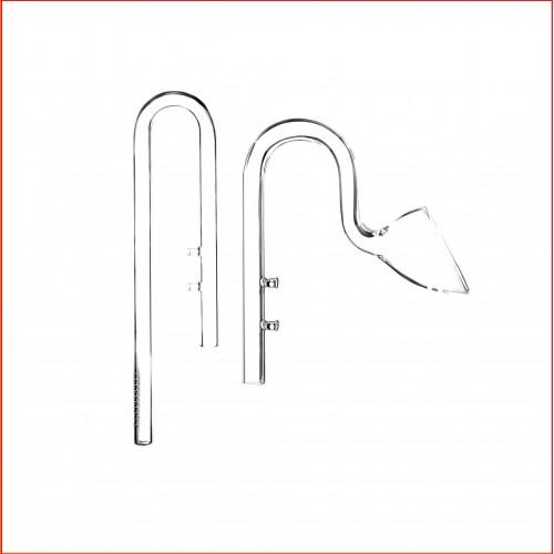 Комплект трубка забора и возврата воды Lily Pipe 12-13 мм