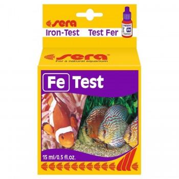 SERA Fe-TEST - тест для определения концентрации железа в воде