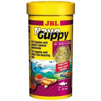 JBL NovoGuppy - Основной корм для гуппи и других живородящих, 250 мл