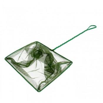 ALEAS Сачок для рыб зелёный 25 см