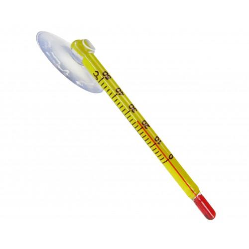 Термометр аквариумный желтый 60 мм