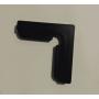 Комплект держателей верхнего стекла аквариума (черные) 4 шт.