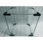 Комплект уголков под стекло аквариума (черные) 4 шт