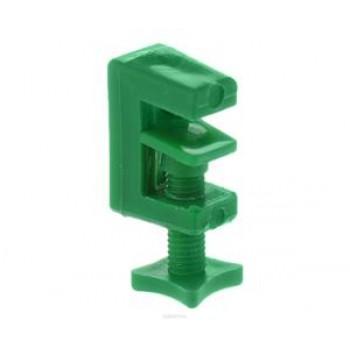 Пластиковый зажим для трубки Ф-4мм Barbus, 1шт