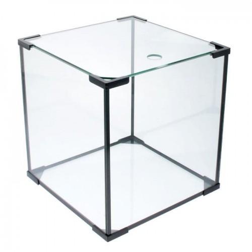 Аквариум Кубик 22*22*28 см из стекла 4 мм, 13 литров