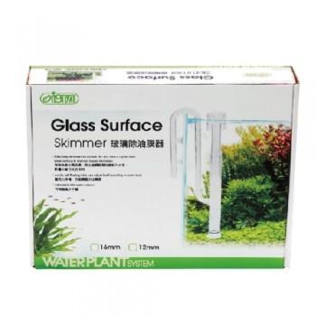 Заборник воды стеклянный совмещенный со скиммером  для внешних фильтров, 12мм