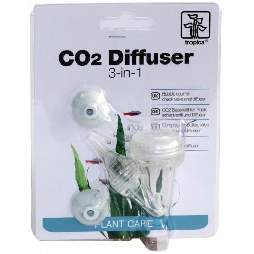 Tropica CO2 Diffuser диффузор 3 в 1, акриловый