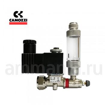 Сборка на CAMOZZI CO2 с счетчиком пузырьков - кран MCO