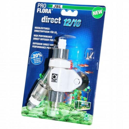JBL ProFlora Direct 12/16, CO2-диффузор атомайзер Проточный диффузор-реактор-атомайзер  для подключения к внешнему фильтру с диаметром шланга 12/16 мм