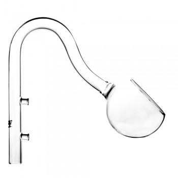 Стеклянная трубка возврата воды Lily Pipe D13