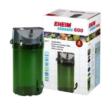 Фильтр внешний EHEIM CLASSIC 2217020 (до 600 л, производительность 1000л/ч) + губки