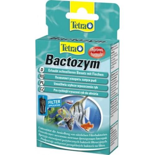 Tetra Bactozym, (10 капсул) кондиционер с культурой бактерий на объем 1000л
