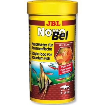 JBL NovoBel Корм для всех аквариумных рыб, в форме хлопьев, 100 мл (18 г)