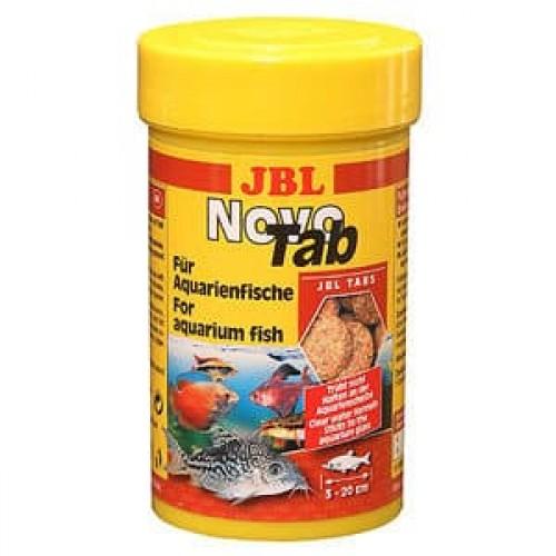 Корм для рыб JBL Novo Tab в форме таблеток для всех видов аквариумных рыб, 100мл