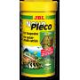 JBL NovoPleco - Водорослевые чипсы с примесью целлюлозы для кольчужных сомов, 250 мл. (125 г.)