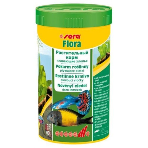 "Sera ""Flora"", 250 мл Корм для рыб"