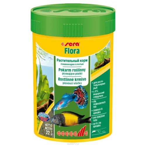 "Sera ""Flora"", Корм для рыб 100 мл"