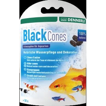 Dennerle Nano Black Cones, Ольховые шишки(сережки), 50 шт.