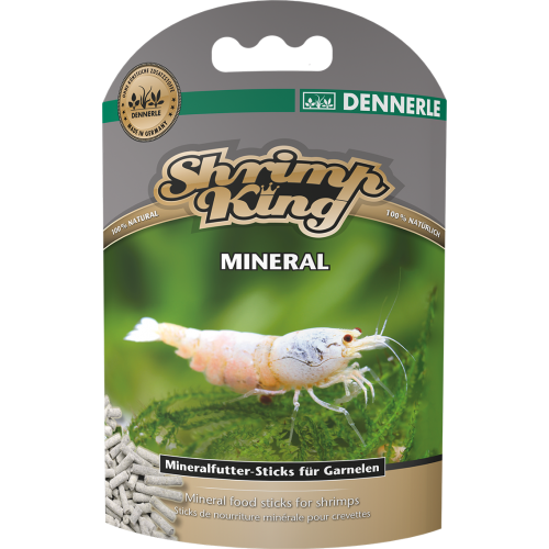 Dennerle Shrimp King Mineral, 45g, Корм для креветок премиум класса