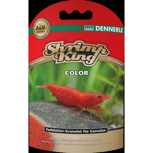 Dennerle Shrimp King Color, 35g, Корм для креветок премиум класса