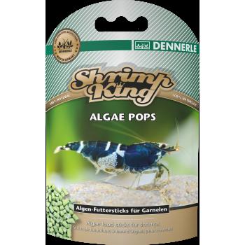Dennerle Shrimp King Algae Pops, 40г, Корм для креветок премиум класса