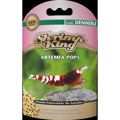 Dennerle Shrimp King Artemia Pops, 40г, Корм для креветок премиум класса