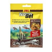 JBL NovoBel - Основной корм в форме хлопьев для пресноводных аквариумных рыб, 12 г.