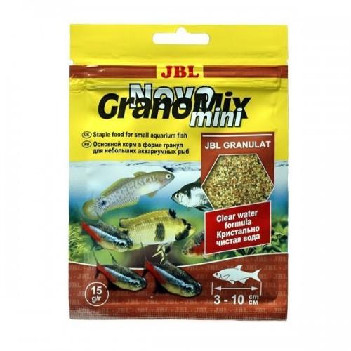 JBL NovoGranoMix mini - Основной корм для небольших, гранулы, саше 15 г