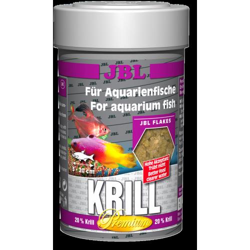 JBL Krill - Корм премиум с крилем для пресн. и мор. акв. рыб, хлопья, 100 мл (16 г)