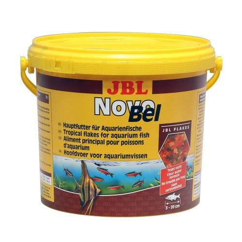 JBL NovoBel 5,5 л (950г) - Основной корм в форме хлопьев для всех аквариумных рыб