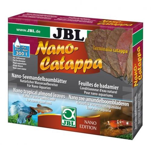 JBL Nano-Catappa - Листья тропического миндального дерева для нано-аквариума, 10 шт